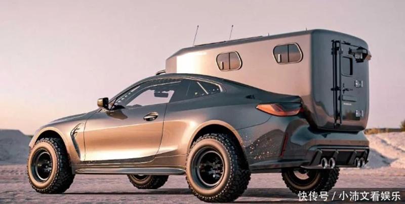 宝马设计了M4房车渲染图,网友看后:这是谁被菜刀砍到脑袋了?